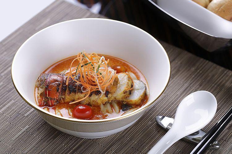 lobster laksa dari four seasons jakarta