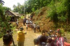 Diguyur Hujan Deras, Longsor Terjadi di Sejumlah Kawasan di Gunungkidul