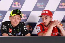 Gagal Naik Podium pada MotoGP Malaysia, Rossi Salahkan Ban
