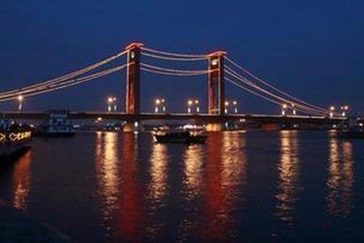 Ilustrasi: Jembatan Ampera, Palembang, Sumatera Selatan.