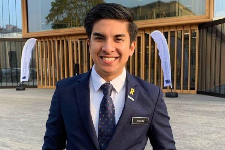 Mantan Menteri Pemuda dan Olahraga (Menpora) Malaysia Syed Saddiq