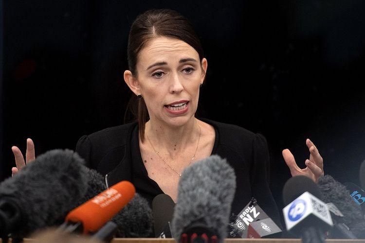 PM Selandia Baru, Jacinda Ardern.