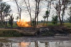 Muncul Semburan Api di Persawahan Indramayu, Warga: Kalau Malam Bau Gasnya Tercium Banget