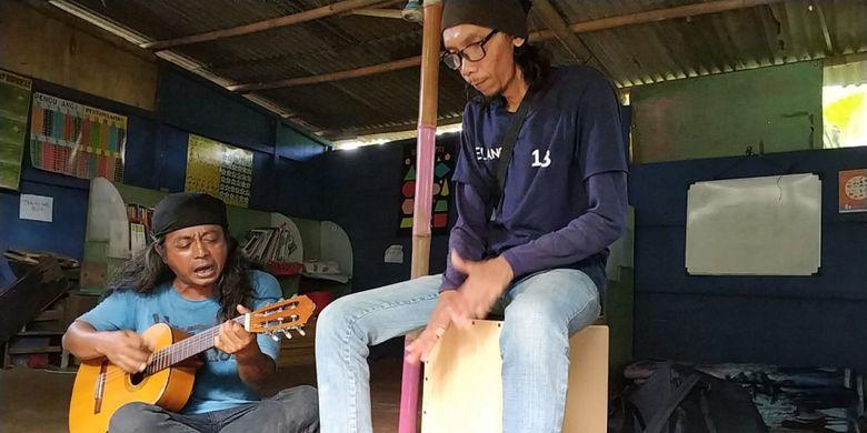 Rumah Singgah anak jalanan di Kampung Rambutan, Kamis (21/6/2018)