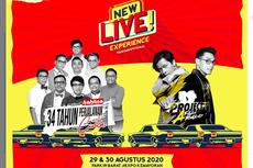 Kahitna, Afgan, dan Armand Maulana Bakal Manggung di Konser New Live! Experience