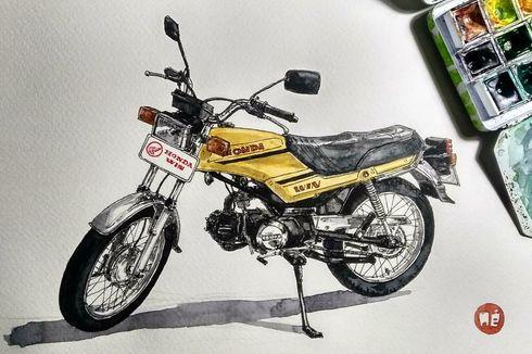 Honda WIN, dari Motor Lurah jadi Mainan Anak Kustom