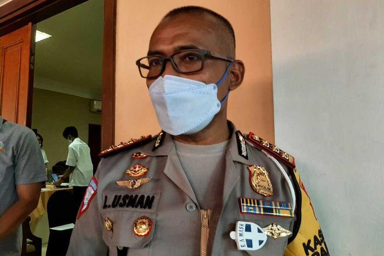 Direktur Lalu Lintas Polda Jatim Kombes Latif Usman