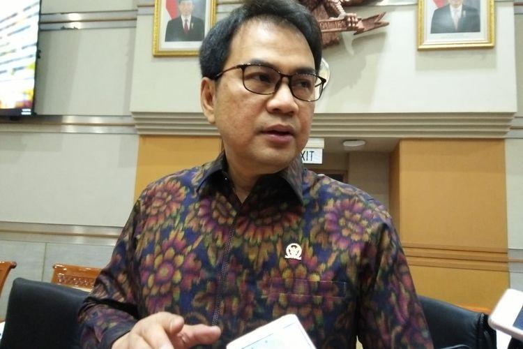 Wakil Ketua DPR RI Bidang Korpolhukam Aziz Syamsuddin.