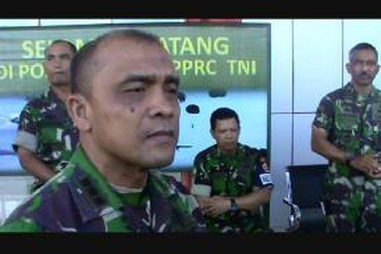 Komandan Resort Militer 132 Tadulako Kolonel Infanteri Ilyas Harahap