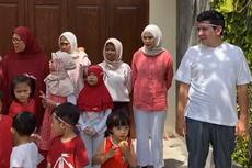 Zaskia Adya Mecca Gelar Upacara 17 Agustus di Rumah