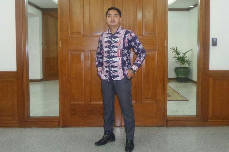 Ajudan Gubernur DKI Jakarta Djarot Saiful Hidayat, Muhamad Nassyeikh, di Balai Kota DKI Jakarta, Jalan Medan Merdeka Selatan, Jumat (13/10/2017).