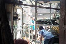 Diduga karena Puntung Rokok Dibuang Dekat Kompor Gas, Satu Rumah Terbakar