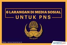 INFOGRAFIK: 6 Larangan di Media Sosial untuk PNS