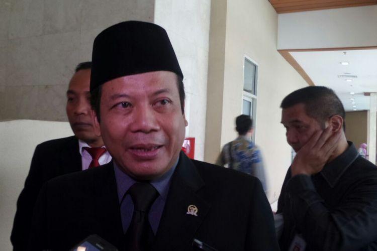 Wakil Ketua DPR RI Taufik Kurniawan di Kompleks Parlemen, Senayan, Jakarta, Kamis (6/7/2017).