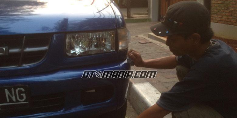 Ilustrasi Pengecatan mobil