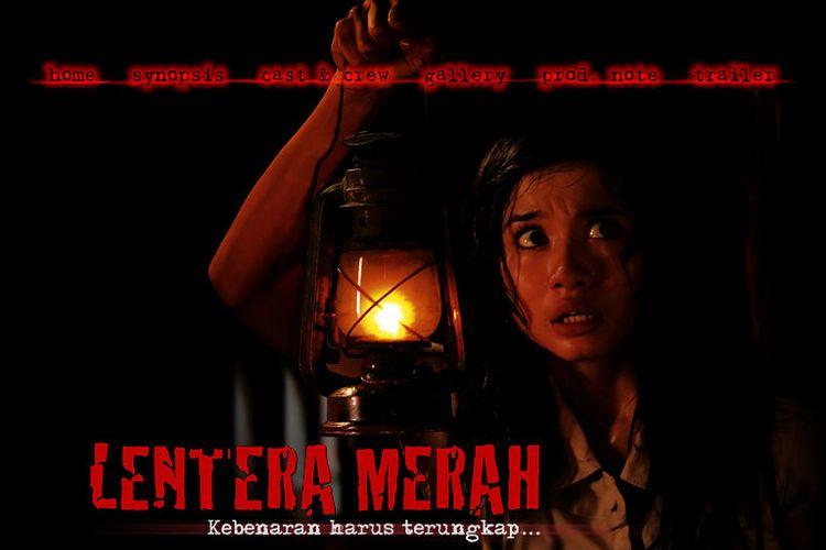 Poster film Lentera Merah