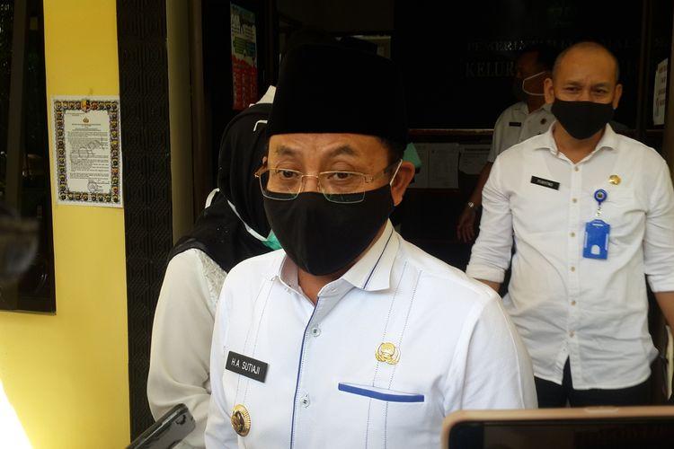 Wali Kota Malang, Sutiaji saat diwawancara di Kelurahan Polowijen, Kota Malang, Rabu (24/6/2020)