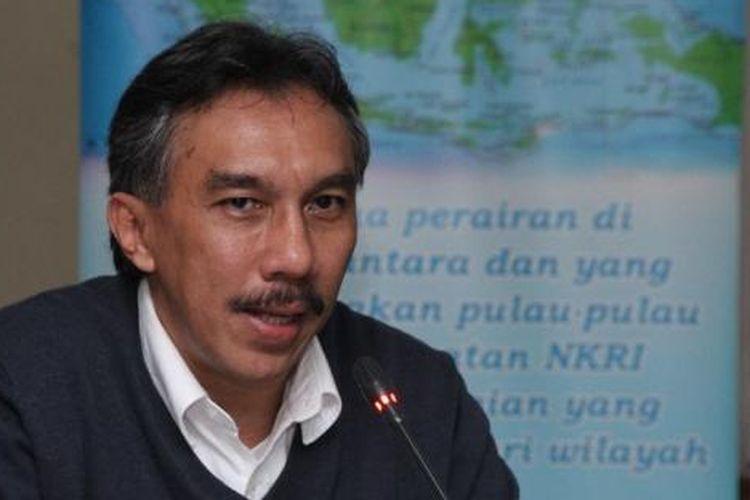 Ridwan Djamaluddin saat menjabat Deputi Bidang Infrastruktur Kementerian Koordinator Bidang Kemaritiman dan Investasi.