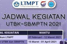 Alur Pendaftaran UTBK SBMPTN 2021