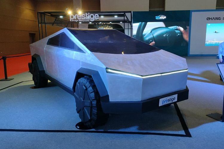 Tesla Cybertruck di IIMS 2021