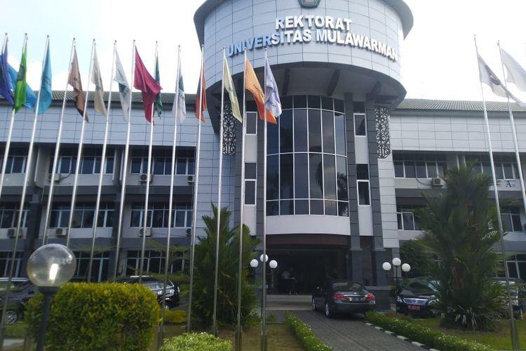 Gedung Rektorat Universitas Mulawarman, Samarinda, Kaltim.