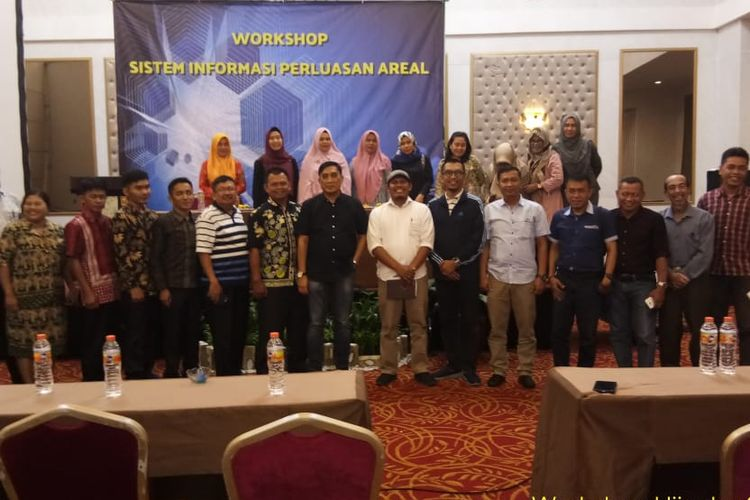 Workshop Sistem Informasi Pelaksanaan Program Perluasan Areal (Siperal) di Hotel Savero Bogor, seperti yang tertera pada rilis tertulis, Kamis (5/9/2019).