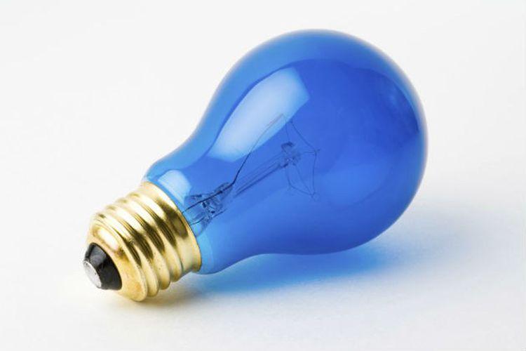 Lampu biru