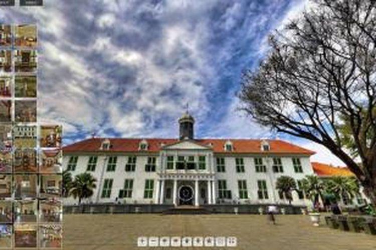Interior Museum Sejarah Jakarta, di kawasan Kota Tua, Jakarta Barat. Museum yang didirikan tahun 1620 oleh Gubernur Jenderal Jan Pieterszoon Coen ini awalnya berfungsi sebagai gedung Balai Kota. Pada 25 Januari 1707 gedung Balai Kota lama dibongkar dan dibangun Gedung Balai Kota seperti yang ada sekarang.