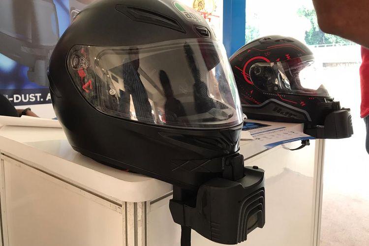 Blusnap Helmet, aksesoris helm full face anti pengap dan anti kabut