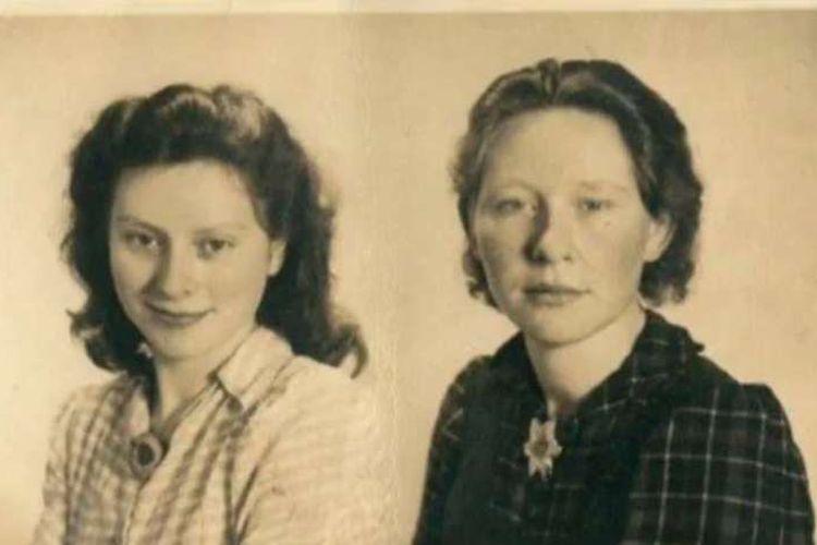 Freddie (kiri) dan Truus Oversteegen (kanan), kakak beradik yang bergabung dalam kelompok perlawanan Belanda dalam Perang Dunia II. [Via Whats Her Name Podcast]