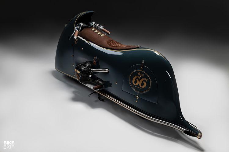 BMW R100 bergaya Art Deco
