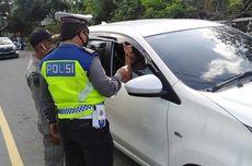 Puluhan Kendaraan Menuju Pantai Kuta Lombok Diminta Putar Balik
