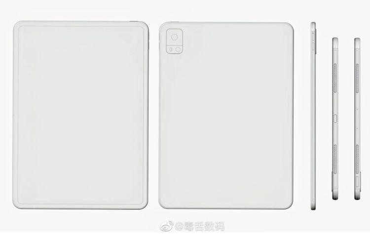 Bocoran wujud tablet pertama dari Vivo