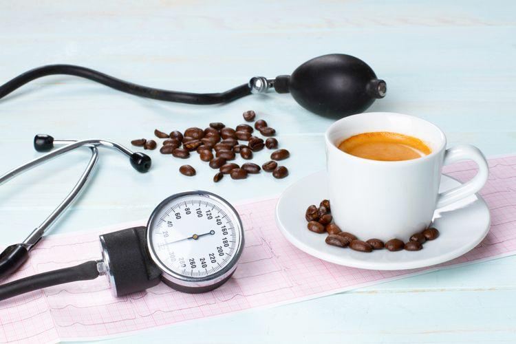Ilustrasi kopi dan kesehatan jantung