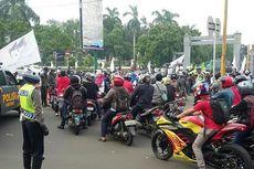 Pemotor Jangan Nekat Menerobos Aksi Demo di Jakarta