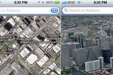 Apple Maps Bakal Bergaya ala Google Maps?