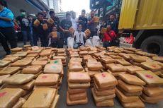 BNN Gagalkan Penyelundupan 571 Kilogram Ganja di Lampung