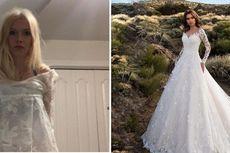 Beli Gaun Pernikahan Secara Online, Calon Pengantin Ini Kecele