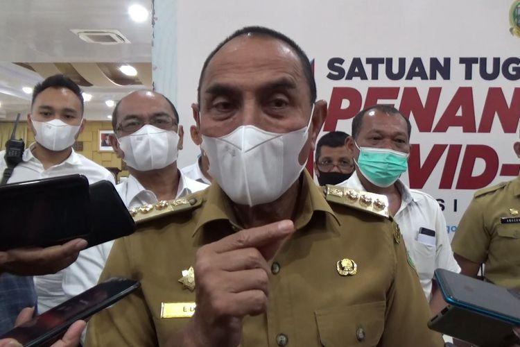 Gubernur Sumatera Utara, Edy Rahmayadi memastikan sejumlah WNI yang baru masuk dari luar negeri akan menghabiskan waktu lebaran di lokasi karantina.