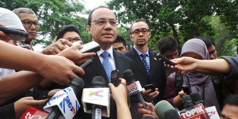 Pelaksana Tugas Juru Bicara Kementerian Luar Negeri Teuku Faizasyah.
