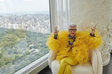 Rayakan Usia 100 Tahun, Ikon Mode Iris Apfel Kolaborasi Bersama H&M