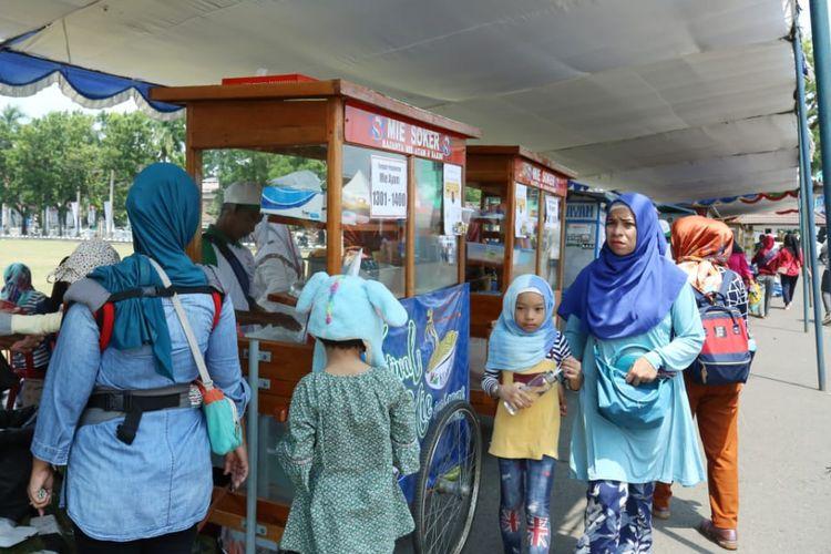 Festival Mie Bogasari 2019 di Palembang.