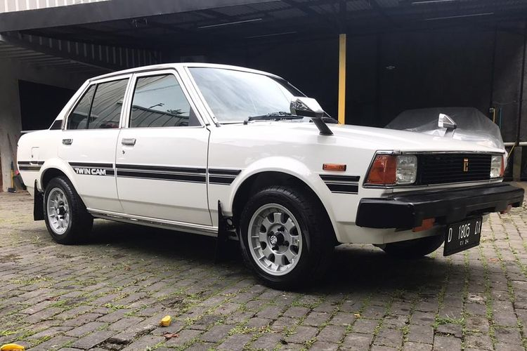 Corolla DX 1983+ milik Muhammad Luthfi pemilik bengkel HDT Motorsport di Bandung
