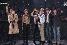 Cetak Sejarah Baru, BTS Bawa Pulang 4 Daesang di MAMA 2019