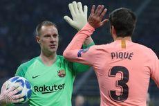 Ter Stegen Ciptakan Rekor Operan, Fans di Camp Nou Terbelah