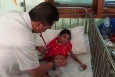 Dua Bocah Gizi Buruk yang Hanya Bisa Terbaring Akhirnya Dirawat di RS