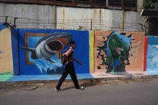 Suasana Kampung 3D di Tangerang, Hasil Karya Anak Muda Setempat