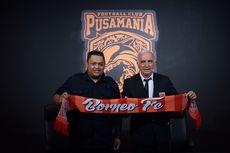 Ingin Borneo FC Kian Berkembang, Presiden Klub Berguru Ke Klub Elite Malaysia
