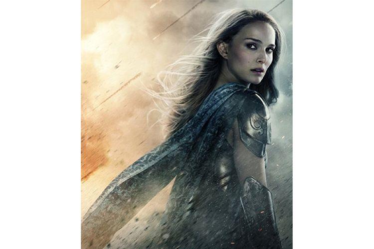 Jane Foster (Natalie Portman) dalam Thor: The Dark World