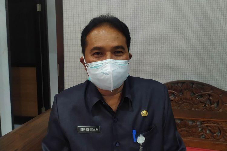 Juru bicara Satgas Covid-19 Kota Denpasar, Dewa Gede Rai
